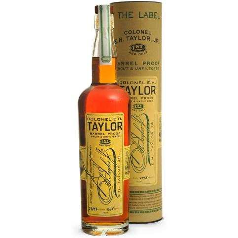 The Colonel E.H. Taylor Barrel Proof Bourbon Whiskey | De Wine Spot - Curated Whiskey, Small-Batch Wines and Sakes