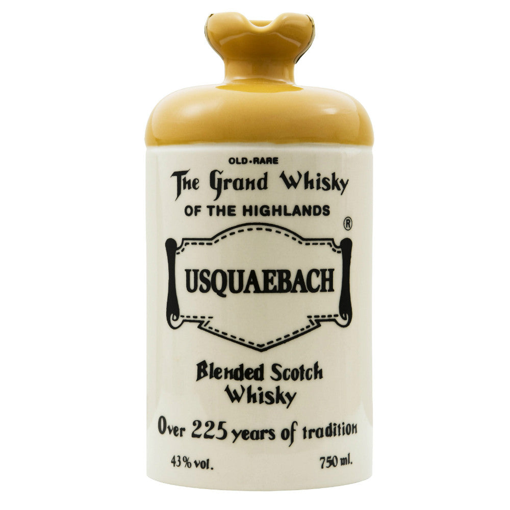 Usquaebach Flagon Ceramic Old Rare Blended Scotch Whisky | De Wine Spot - Curated Whiskey, Small-Batch Wines and Sakes