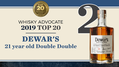 Dewars 21 Years Double Aged Blended Scotch Whisky