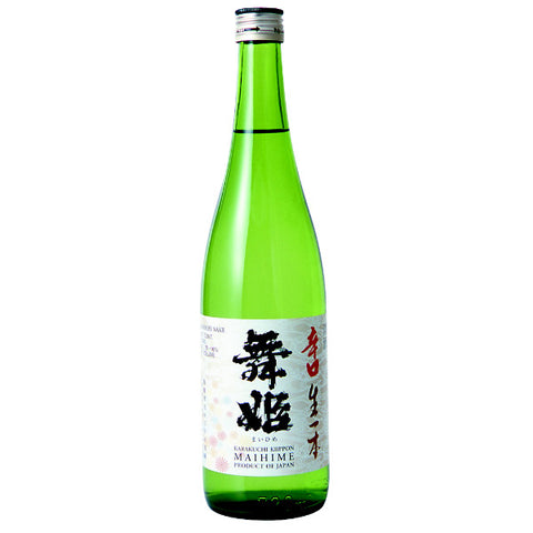 Maihime Karakuchi Ki-ippon Tokubetsu Junmai Sake | De Wine Spot - Curated Whiskey, Small-Batch Wines and Sakes