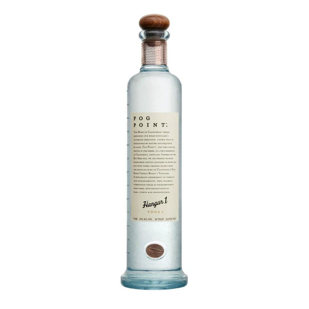 Hangar One Fog Point Vodka - De Wine Spot | Curated Whiskey, Small-Batch Wines and Sakes