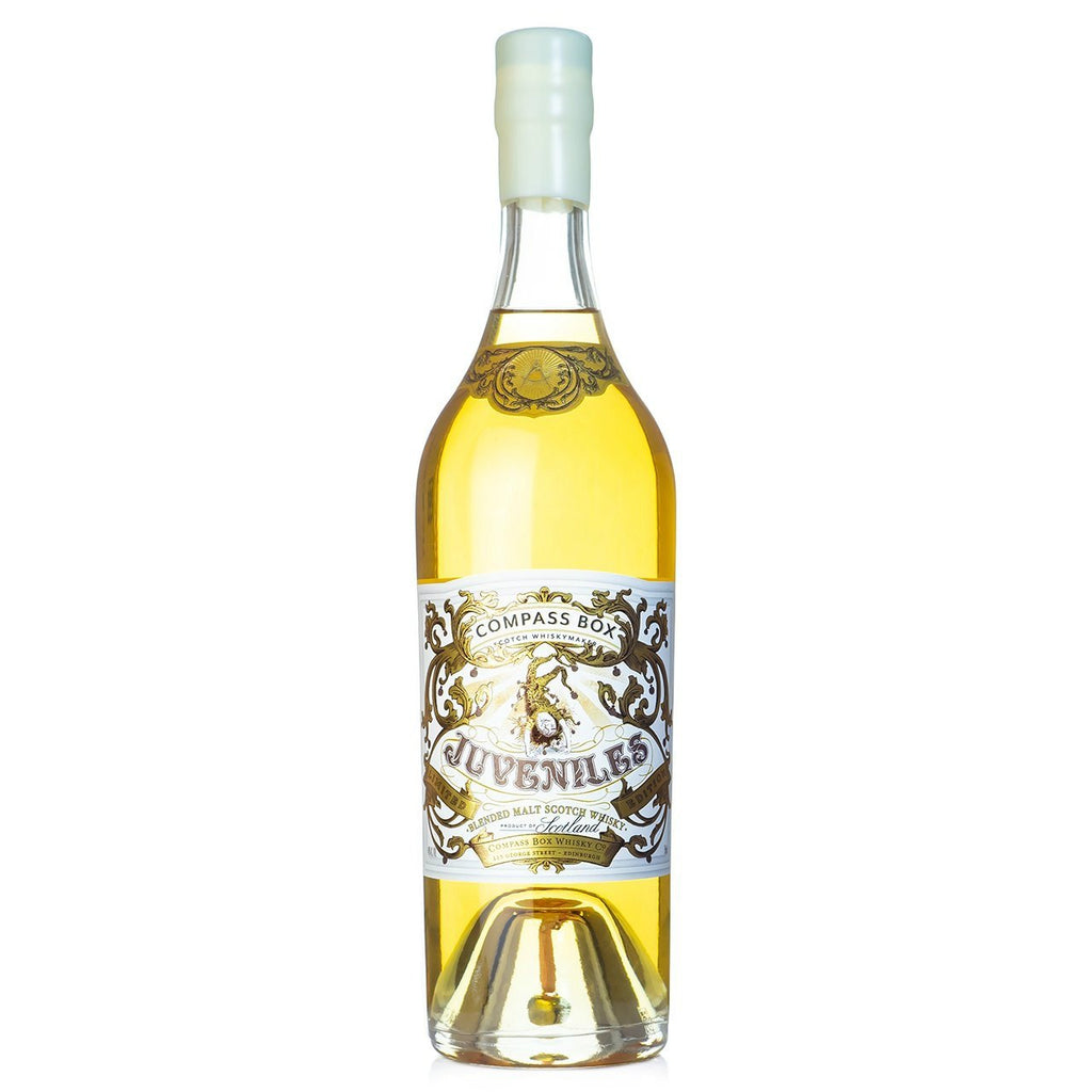 Compass Box Juveniles Limited Edition Blended Malt Scotch Whisky - De Wine Spot | Curated Whiskey, Small-Batch Wines and Sakes
