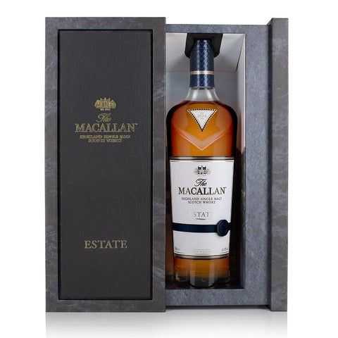 Macallan Estate Highland Single Malt Scotch Whisky - De Wine Spot | Curated Whiskey, Small-Batch Wines and Sakes