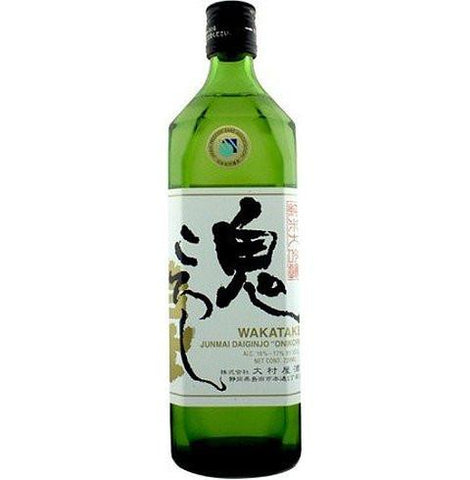 "Wakatake Onikoroshi ""Demon Slayer"" Junmai Ginjo Sake - De Wine Spot 