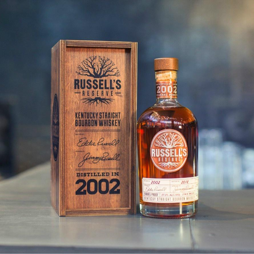 Russell's Reserve 2002 Kentucky Straight Bourbon Whiskey - De Wine Spot | Curated Whiskey, Small-Batch Wines and Sakes