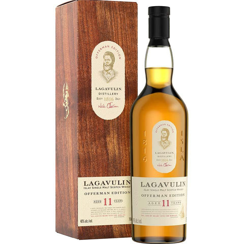 Lagavulin 11 Years Offerman Edition Islay Single Malt Scotch Whisky - De Wine Spot | Curated Whiskey, Small-Batch Wines and Sakes