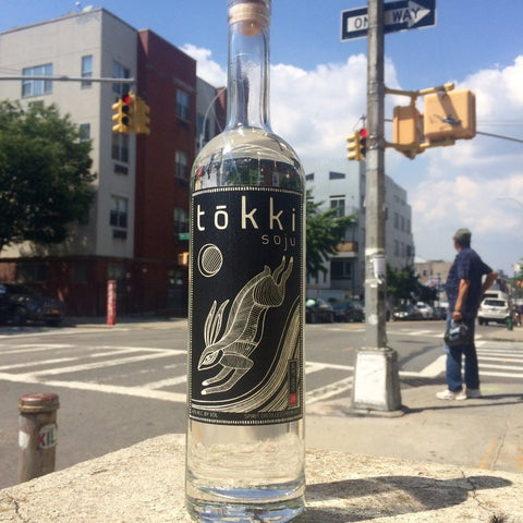 Tokki Rice Soju Black | De Wine Spot - Curated Whiskey, Small-Batch Wines and Sakes