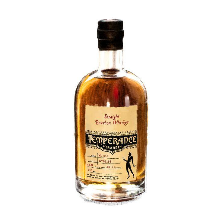Temperance Trader Oregon Straight Bourbon Whiskey - De Wine Spot | Curated Whiskey, Small-Batch Wines and Sakes