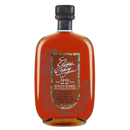 Elijah Craig Bourbon 22 Year Single Barrel Kentucky Straight Bourbon Whiskey - De Wine Spot | Curated Whiskey, Small-Batch Wines and Sakes