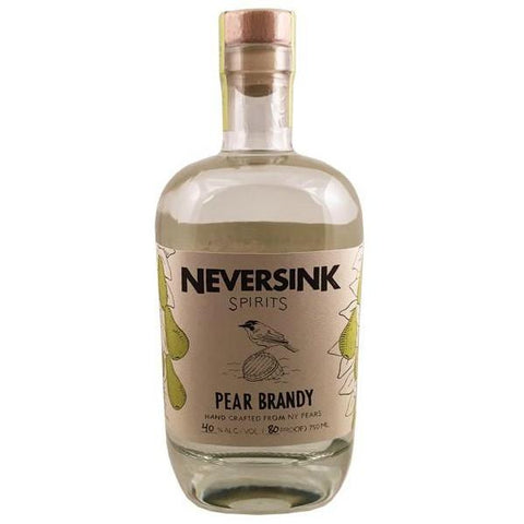 Neversink Spirits Pear Brandy - De Wine Spot | Curated Whiskey, Small-Batch Wines and Sakes