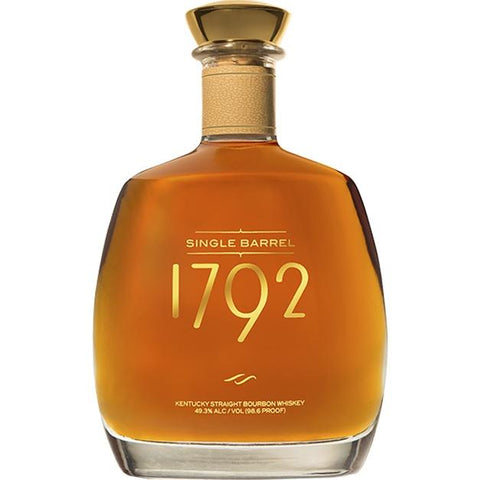 1792 Single Barrel Kentucky Straight Bourbon Whiskey - De Wine Spot | Curated Whiskey, Small-Batch Wines and Sakes