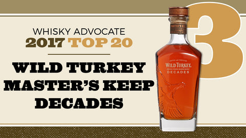 "Wild Turkey Master's Keep ""Decades"" - De Wine Spot 