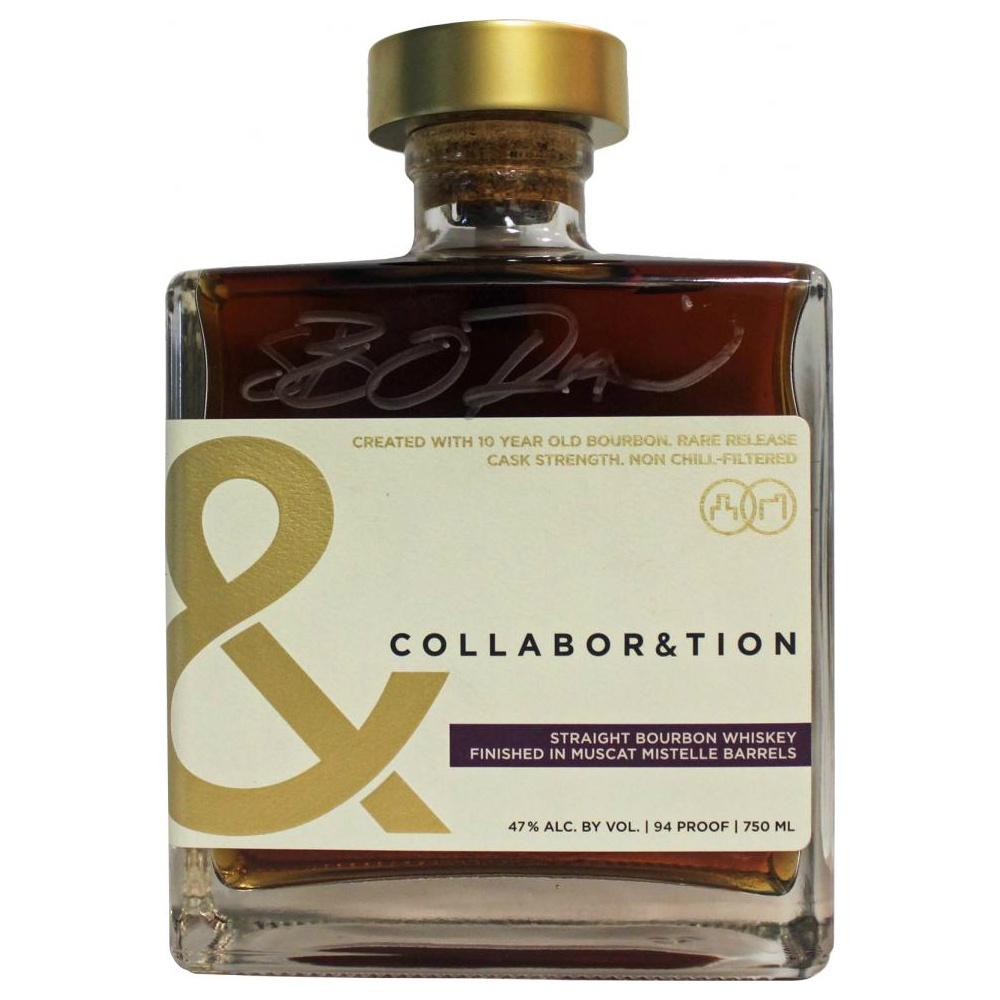 Collaboration Bourbon finished in Muscat Mistelle Barrels