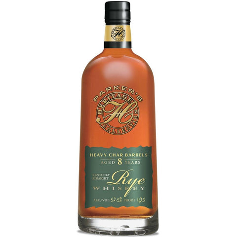 Parker's Heritage Collection Heavy Char Barrels Aged 8 Years Rye Whiskey (Release #13)