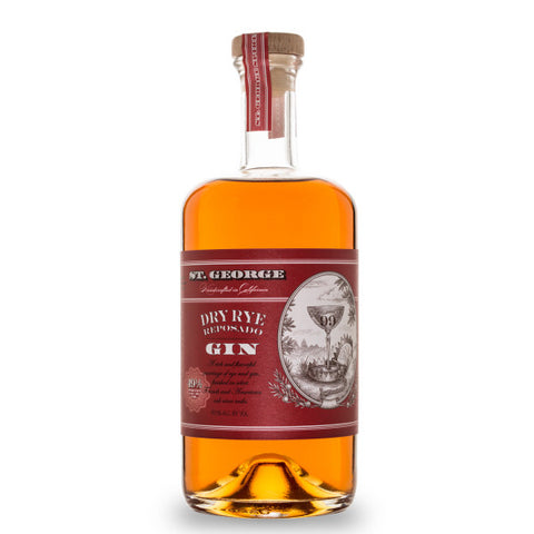 St. George Gin Dry Rye Reposado | De Wine Spot - Curated Whiskey, Small-Batch Wines and Sakes