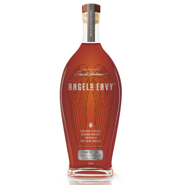 Angel's Envy Cask Strength Kentucky Straight Bourbon Whiskey - De Wine Spot | Curated Whiskey, Small-Batch Wines and Sakes