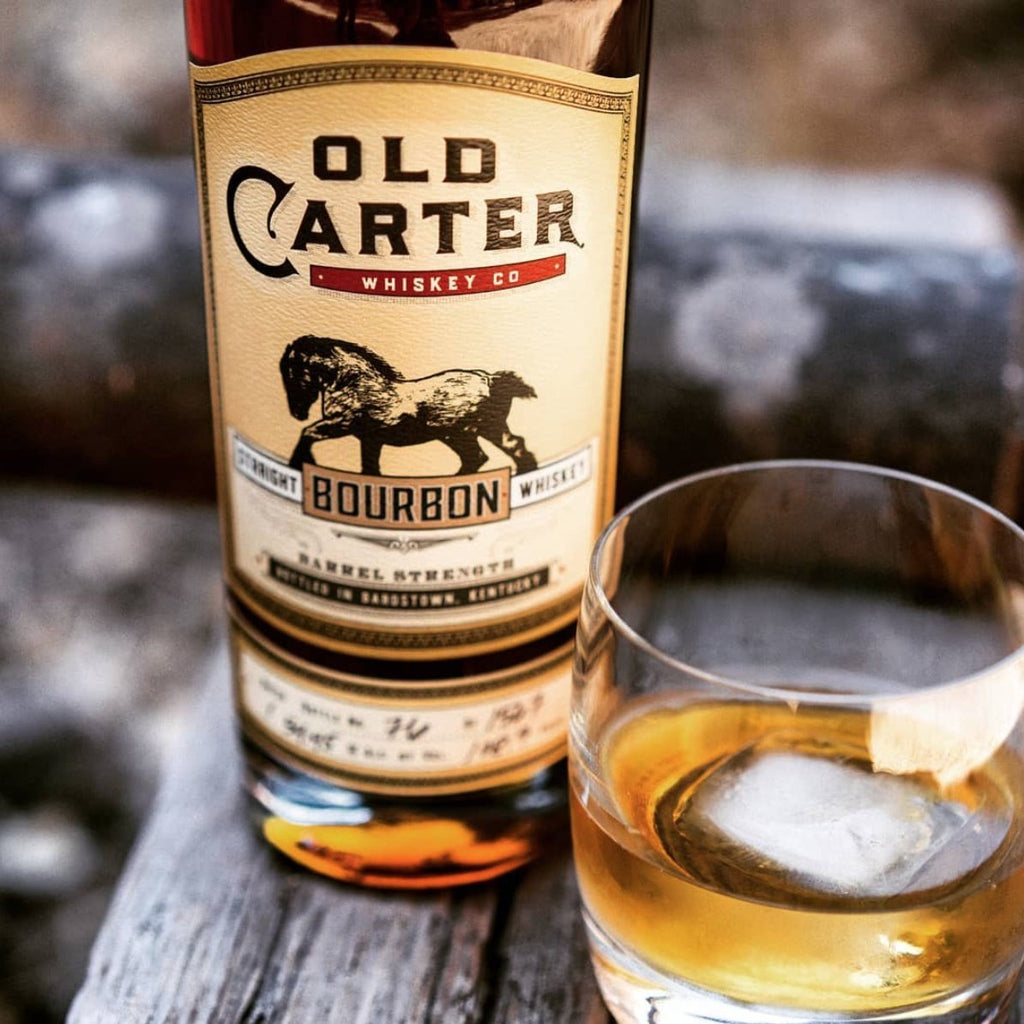 Old Carter Straight Bourbon Whiskey - De Wine Spot | Curated Whiskey, Small-Batch Wines and Sakes