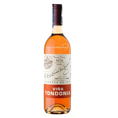 Lopez De Heredia Tondonia Rose Gran Reserva 2010 - De Wine Spot | Curated Whiskey, Small-Batch Wines and Sakes