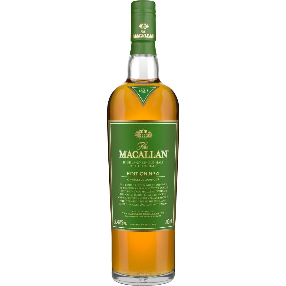 Macallan Edition No. 4 Single Malt Scotch Whisky - De Wine Spot | Curated Whiskey, Small-Batch Wines and Sakes