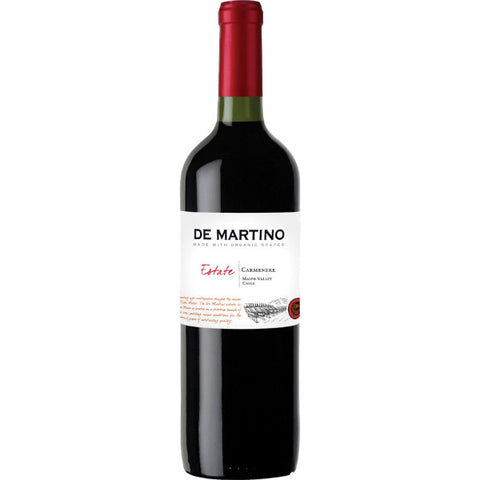 De Martino Estate Organic Carmenere | De Wine Spot - Curated Whiskey, Small-Batch Wines and Sakes