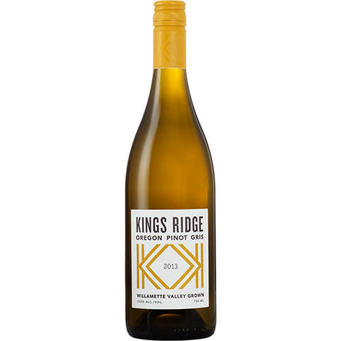 Kings Ridge Pinot Gris - De Wine Spot | Curated Whiskey, Small-Batch Wines and Sakes