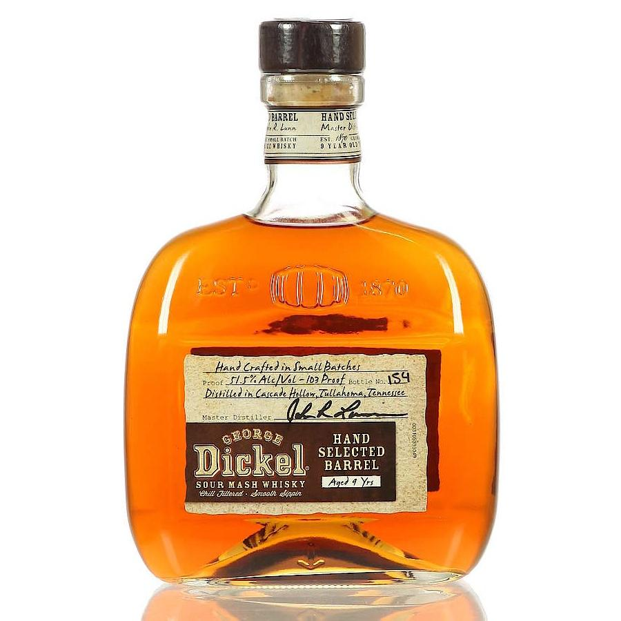 George Dickel 9 Years Hand Selected Barrel Sour Mash Whisky