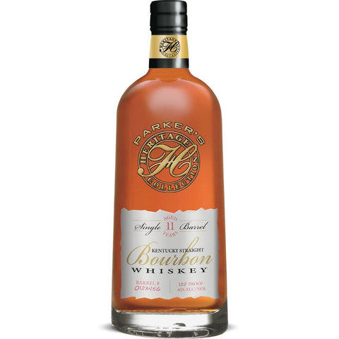 Parker's Heritage Collection 11 Year-Old Single Barrel Kentucky Straight Bourbon Whiskey (Release #11) | De Wine Spot - Curated Whiskey, Small-Batch Wines and Sakes