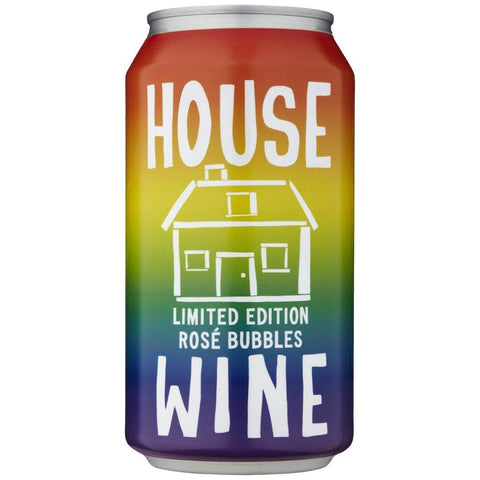 House Wine Limited Edition Rainbow Rose Bubbles - De Wine Spot | Curated Whiskey, Small-Batch Wines and Sakes