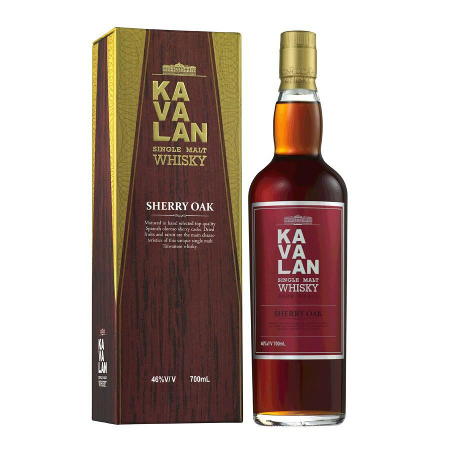 Kavalan Sherry Oak Whisky | De Wine Spot - Curated Whiskey, Small-Batch Wines and Sakes