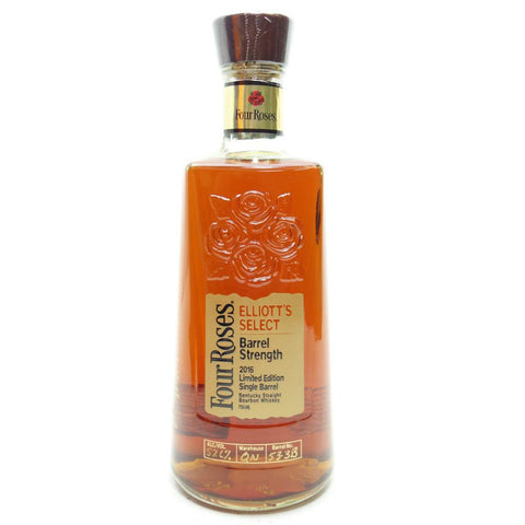 Four Roses Elliott's Select Limited Edition Single Barrel Bourbon Whiskey - De Wine Spot | Curated Whiskey, Small-Batch Wines and Sakes