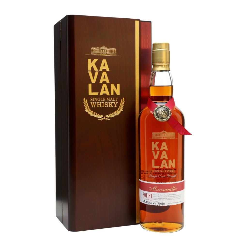 Kavalan Solist Manzanilla Sherry Cask Strength Single Malt Taiwanese Whisky - De Wine Spot | Curated Whiskey, Small-Batch Wines and Sakes
