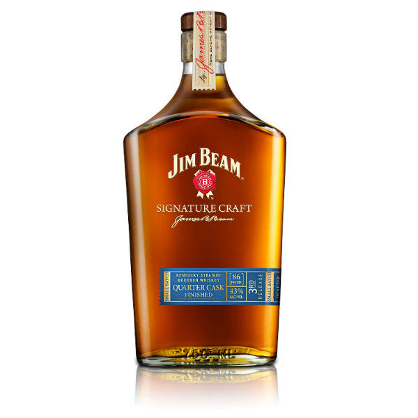 Jim Beam Signature Craft Quarter Cask Bourbon | De Wine Spot - Curated Whiskey, Small-Batch Wines and Sakes