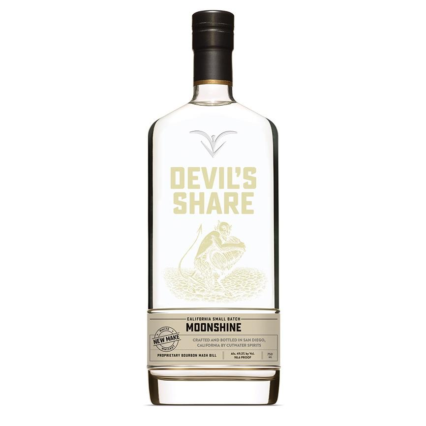 Devil's Share Moonshine Small Batch - De Wine Spot | Curated Whiskey, Small-Batch Wines and Sakes