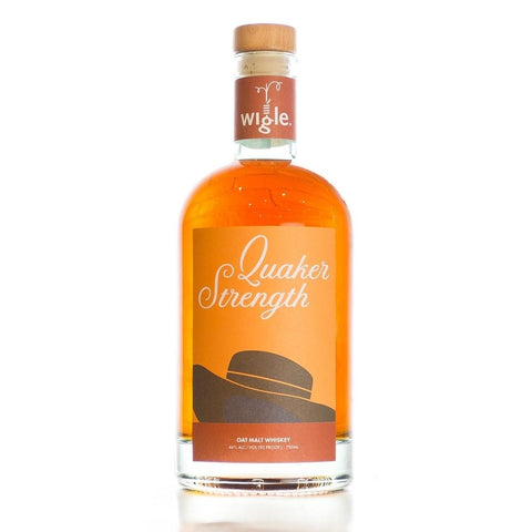 Wigle Whiskey Quaker Strength Oat Malt Whiskey - De Wine Spot | Curated Whiskey, Small-Batch Wines and Sakes
