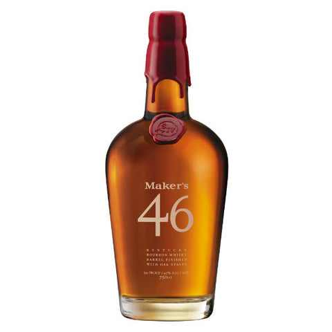 Maker's 46 Kentucky Bourbon Whisky - De Wine Spot | Curated Whiskey, Small-Batch Wines and Sakes