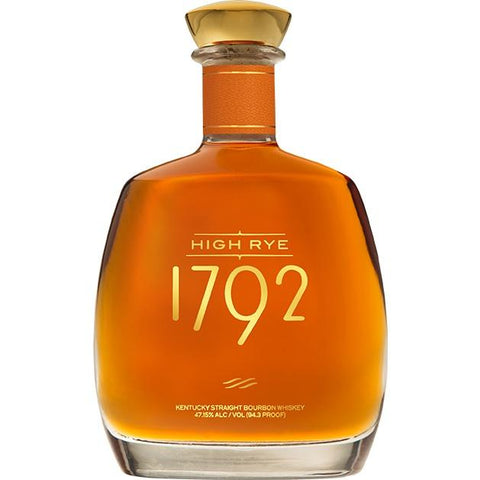 1792 High Rye Kentucky Straight Bourbon Whiskey - De Wine Spot | Curated Whiskey, Small-Batch Wines and Sakes