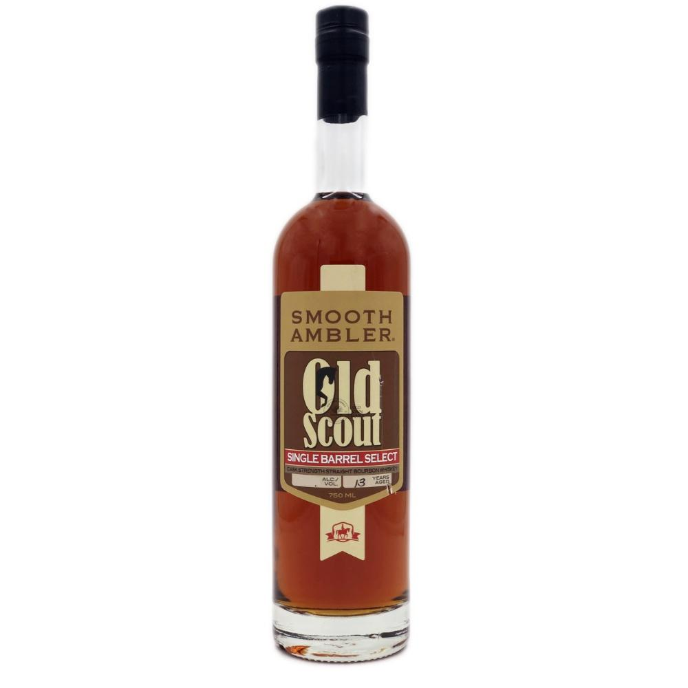 Smooth Ambler Old Scout 13 Years Old Single Barrel Select Cask Strength Straight Bourbon Whiskey