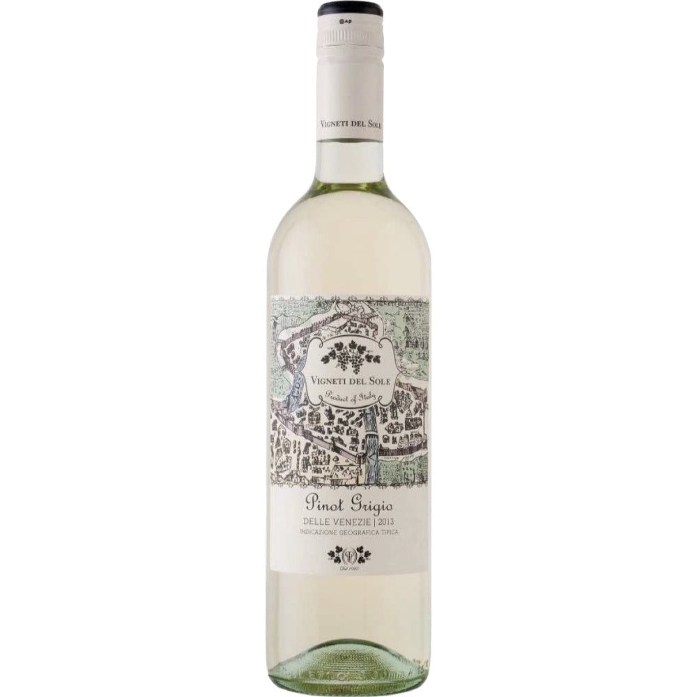 Vigneti Del Sole Pinot Grigio | De Wine Spot - Curated Whiskey, Small-Batch Wines and Sakes