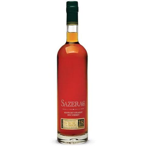 BTAC Sazerac 18 Years Old Kentucky Straight Rye Whiskey - De Wine Spot | Curated Whiskey, Small-Batch Wines and Sakes