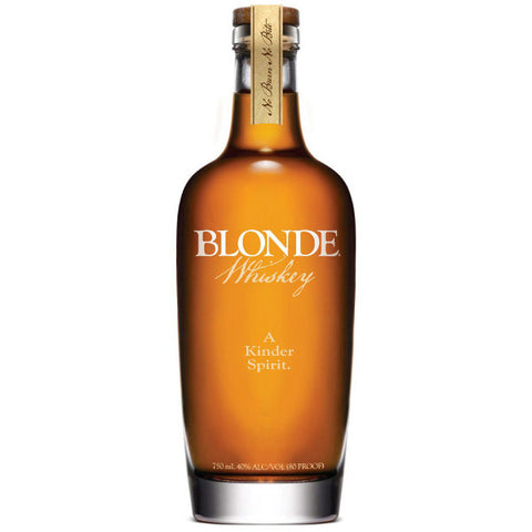 Blonde Straight Whiskey - De Wine Spot | Curated Whiskey, Small-Batch Wines and Sakes