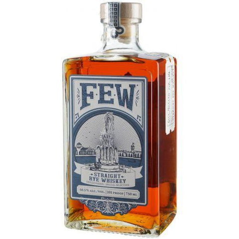 Few Spirits Rye Whiskey Single Barrel Special Selection 101 Proof