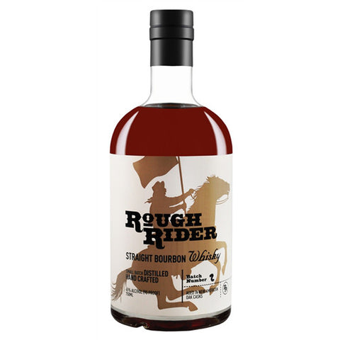 Rough Rider Straight Bourbon Whisky - De Wine Spot | Curated Whiskey, Small-Batch Wines and Sakes