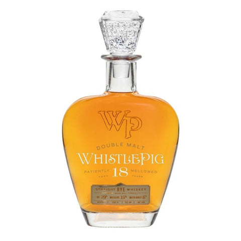 WhistlePig Double Malt 18 Year Old Straight Rye Whiskey - De Wine Spot | Curated Whiskey, Small-Batch Wines and Sakes