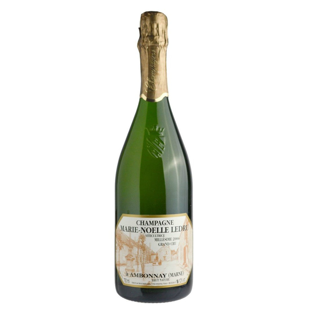 Marie-Noelle Ledru 2014 Cuvee de Goulte Blanc de Noirs Champagne - De Wine Spot | Curated Whiskey, Small-Batch Wines and Sakes