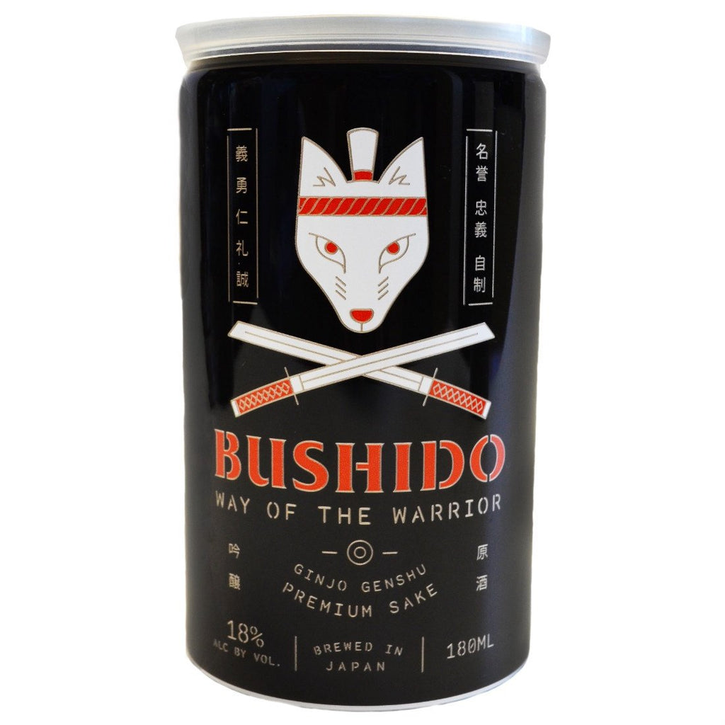 Bushido Way of the Warrior Ginjo Genshu Sake - De Wine Spot | Curated Whiskey, Small-Batch Wines and Sakes