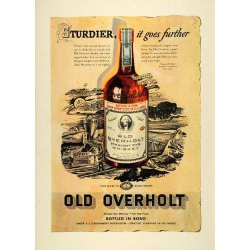 Old Overholt Straight Rye Whiskey - De Wine Spot | Curated Whiskey, Small-Batch Wines and Sakes