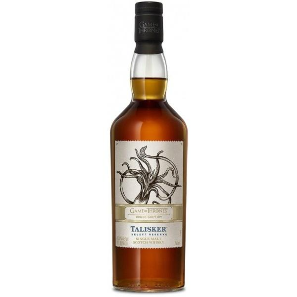 "Game of Thrones ""House Greyjoy"" Talisker Select Reserve Highland Single Malt Scotch Whisky"
