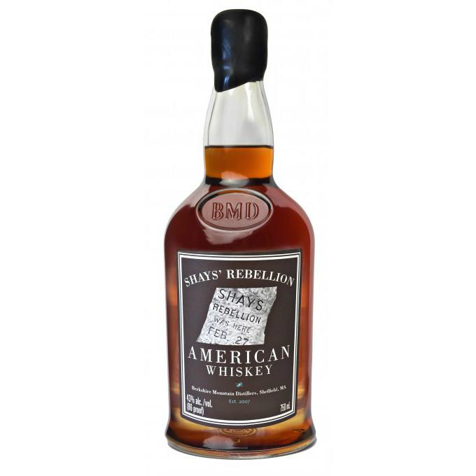 Berkshire Mountain Distillers Shays' Rebellion American Whiskey - De Wine Spot | Curated Whiskey, Small-Batch Wines and Sakes