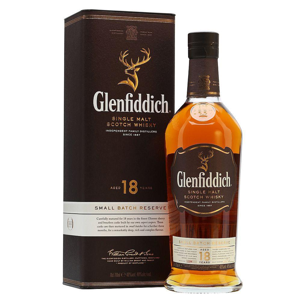 Glenfiddich 18 Year Old Single Malt Scotch Whisky | De Wine Spot - Curated Whiskey, Small-Batch Wines and Sakes