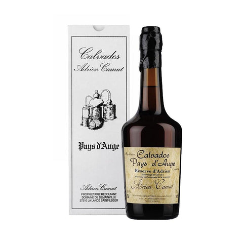 Adrien Camut Calvados 35 Years Reserve d'Adrien - De Wine Spot | Curated Whiskey, Small-Batch Wines and Sakes